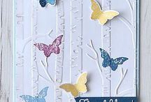 Cards: with butterflies