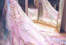 Wedding dresses art prosject