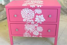 Painted Furniture Ideas / by The Purple Painted Lady ~ Tricia Kuntz
