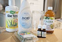 Homemade Cleaning and Beauty Products / These are products I have not made yet.  Please see my Made it board for tried and true recipes! / by Martha McNeely