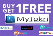 BOGO Coupons ( Buy 1 Get 1 Free Offers ) / MyTokri.com is again on top with the latest section of Buy 1 Get 1 Free coupons.