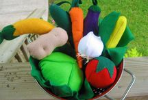Play Food/Toys / by Rosabeth Cochelle