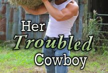 Book: Her Troubled Cowboy / For over a year, former National Guardsman Keiffer Wyne left his past in Pennsylvania to start a new life, drifting from ranch to ranch across the southwest. Unrestricted, nomadic, unaccountable—he embraces the new lifestyle, until he's called upon to watch over his sister Brandy during her husband's absence. The problem? She'll be there. The one woman capable of breaking through his barriers and making him feel.