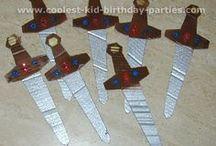 Arron medieval birthday party