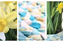 Braided rug / Plaited rug, diy, tutorial, no sew, braided rag rug