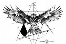 Geometrik dövmeler