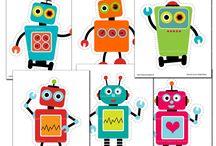 roboter und monster