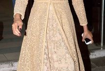 Long Anarkali and dresses