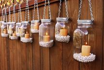 candles/jars