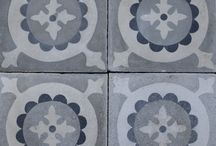 Salvaged / Old / Antique / Vintage Tiles / Tiles found by Maitland & Poate in Spain