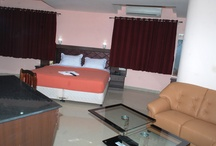 Master Suite  / Hotel Shri sainivas at shirdi provides accommodation at different levels starting from deluxe suite to master suite. pictures showing the accommodation details and facilities in a master suite