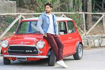 Vintage style with Mini Cooper