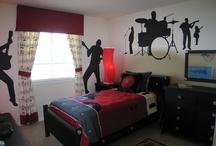 Music Theme Bedroom