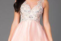 rosa kläningar