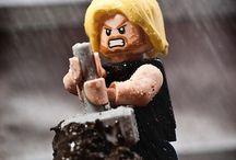 LEGO superhelte