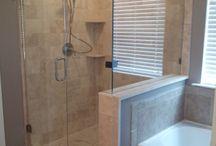 Bathroom remodel  / by Megan Snyder