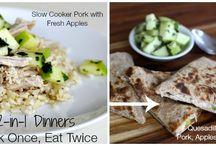 2-in-1 Dinners (Cook Once, Eat Twice) / by Foodlets