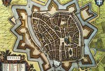 Zwolle zo oud mogelijk / Kaart van Zwolle door de cartograaf Joan Blaue in 1649