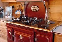 vintage wood cook stoves / by Betty Milby