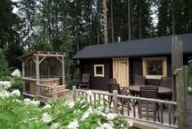 Sauna, palju & terassi