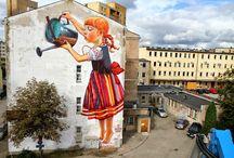 Polski Streetart / O  sztuce ulicznej w Polsce