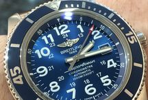 Breitling Superocean 44 blue dial / Breitling Superocean 44 blue - 2015 year