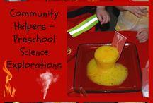 Community Helpers- preschool theme