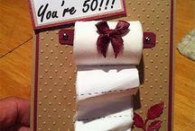 50 th Birthday cards
