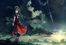Touhou landscape / Touhou landscape art from various artist, click in the link to check the pin origin and support the original creator please :D