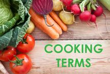 Cooking terms / by Mrs. Monroe