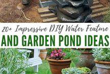 Free DIY Water Garden Ideas / Free DIY Water Garden Ideas