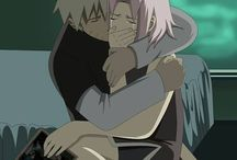 Naruto and Sakura / Even though Naruto ended up with hinata, he will always love Sakura more than a friend or teammate. He loved her for so long its hard to believe he stop all those feelings. I think he learned to accept Sakura loves Sasuke more than Naruto. I also think Sakura did love Naruto but her feelings for Sasuke were just stronger. Either way Naruto and Sakura have an unspoken bond unlike any other.