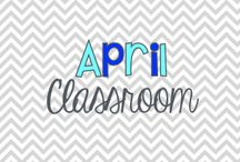 April Classroom / by LaKeta Siler Ille