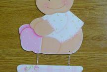 carteles de bienvenida de bebe