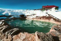 Pools at Iceland