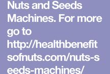 Nuts And Seeds Machines / At this board you can find different kinds of nut crackers. #nutcracker #walnutcracker #almondmilkmaker #soyamilkmaker