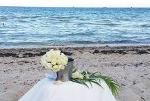 Renouvellement de nos voeux de mariage à Miami / Le #mariage plutôt deux fois qu'une ! Deux mois après notre mariage à Megève, nous avons renouveler nos vœux sur une plage de Miami et c'était magique !