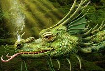 Thoughts about Dragons / by Marsha A. Moore