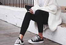 Black Converse outfit