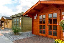Gartenhäuser / Gartenhäuser, Blockhäuser, Holz, Fichte, in verschiedenen Wandstärken, viele Modelle und Größen, passendes Zubehör, Garten, Gartengestaltung, Design, Wohnraum