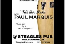 Live Concerts - Tiki Bar Music with Paul Marquis / Live Acoustic Concert Dates - Tiki Bar Music with Paul Marquis