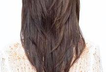 Long hair cuts  / Woman's long hair cuts