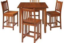 Pub tables / A #relaxed atmosphere is the perfect place to create #memories. #Amish made #pub tables will bring family and friends together for years to come!