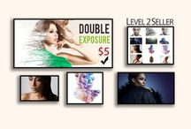 Double Exposure starts at 5$ / I will create amazing & unique double exposure effect in Photoshop,  This Gig fits perfectly to every social networking profile picture or cover,and it is a great gift for your friends and family members.   Standard Order cost only 5$ which includes:  Face to shoulders Transparent Background PNG File  Order here https://www.fiverr.com/rubalsingh/create-double-exposure-of-your-photo?