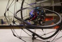 Spherical drone
