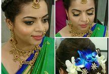 Wedding Hairstyles / Hairstyles, Evergreen styles, DIY styles