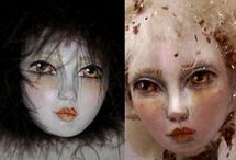 Jean Bernard - Cloth Doll Patterns and Face Molds