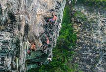 Climbing / climbing imagery