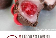 Chocolate covered cherries / by Connie Burgdorf