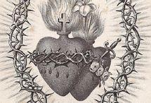 Tatuagens de coração sagrado